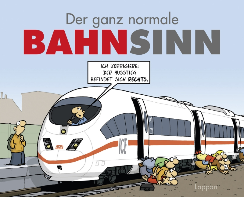 Miguel Fernandez – Der ganz normale Bahnsinn (Buch)