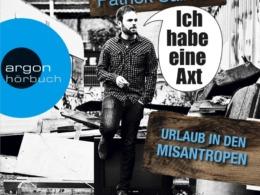 Patrick Salmen - Ich habe eine Axt (Cover © argon)