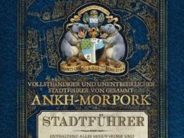 Terry Pratchett - Vollsthändiger und unentbehrlicher Stadtführer von gesammt Ankh-Morpork (Cover © Manhattan Verlag)