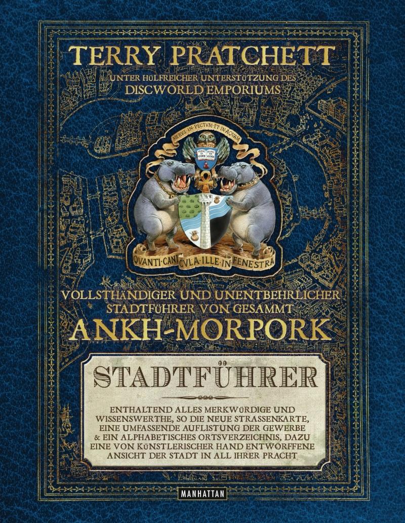 Terry Pratchett – Vollsthändiger und unentbehrlicher Stadtführer von gesammt Ankh-Morpork (Buch)