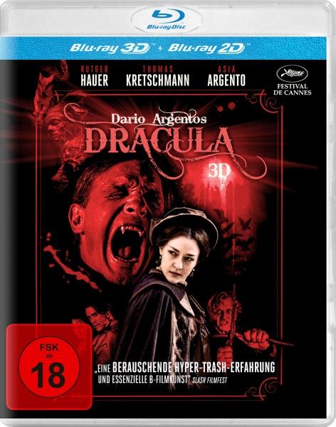 Dario Argentos Dracula (3D Blu-ray inkl. 2D Fassung)  (Spielfilm, DVD/Blu-Ray)