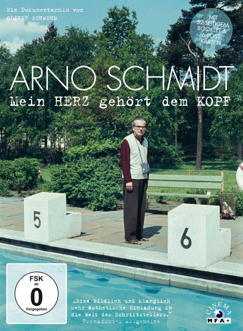 Arno Schmidt – Mein HERZ gehört dem KOPF (Dokumentation, DVD; limitierte Sonderausgabe)