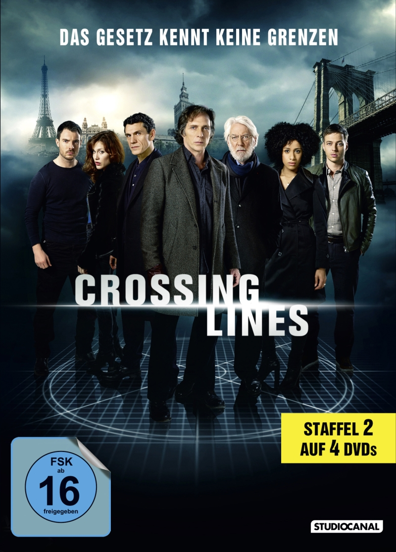 Crossing Lines – Staffel 2 (TV-Serie, 4DVD/2BD)