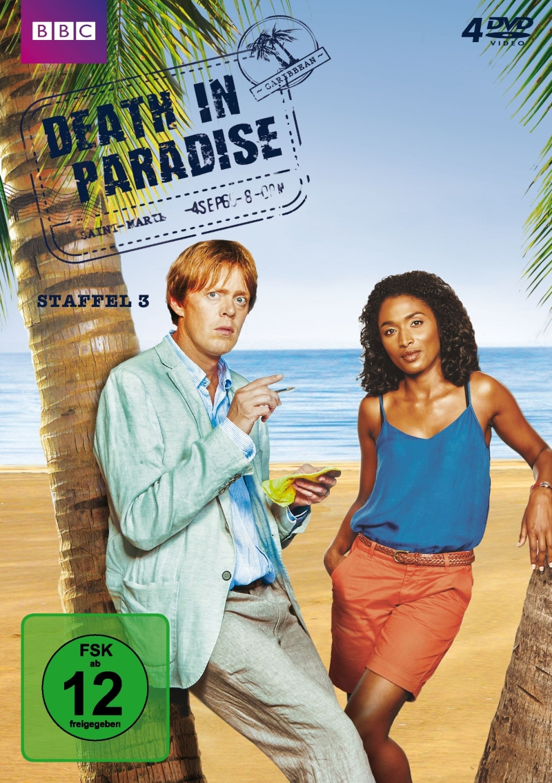 Death In Paradise – Staffel 3 (4DVD)
