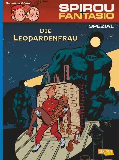 Schwartz & Yann – Spirou Spezial 19: Die Leopardenfrau (Comic)