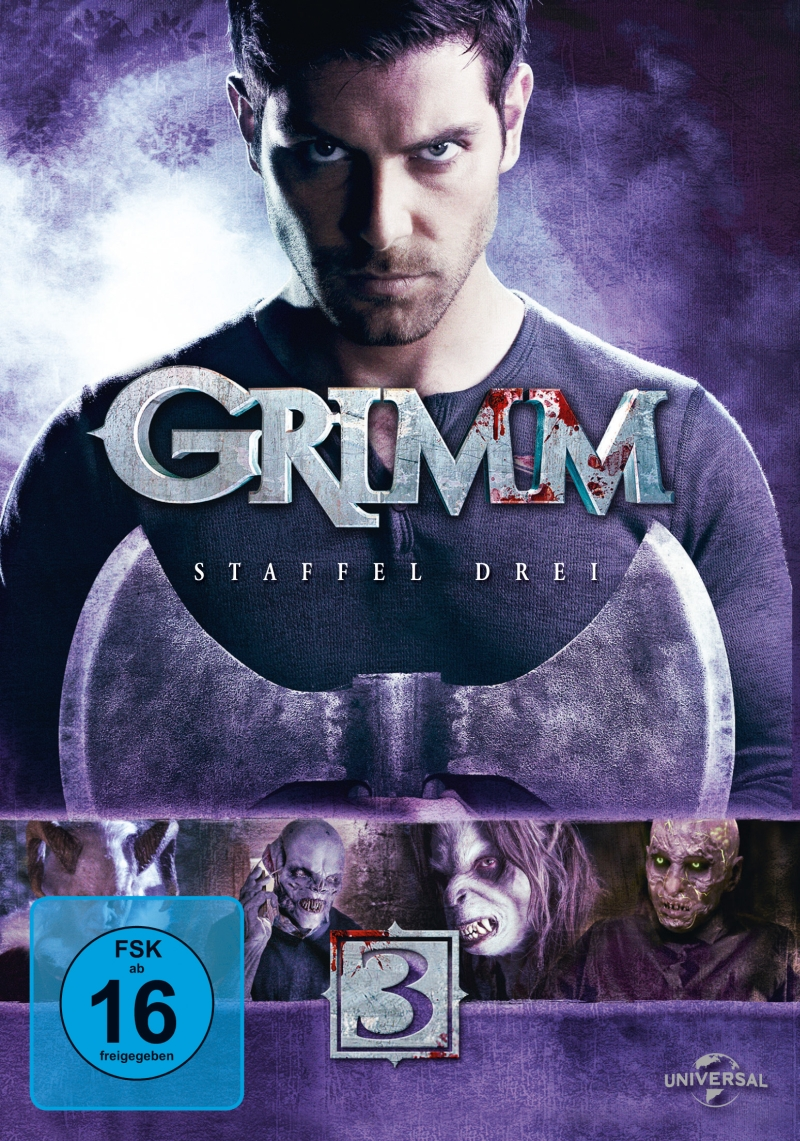 Grimm – Staffel 3 (TV-Serie, DVD/BluRay)