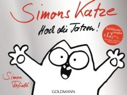 Simon Tofield - Simons Karte - Hoch die Tatzen - Cover © Goldmann Verlag