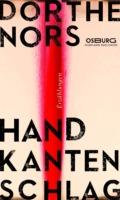 Dorthe Nors - Handkantenschlag (Cover © Osburg Verlag)