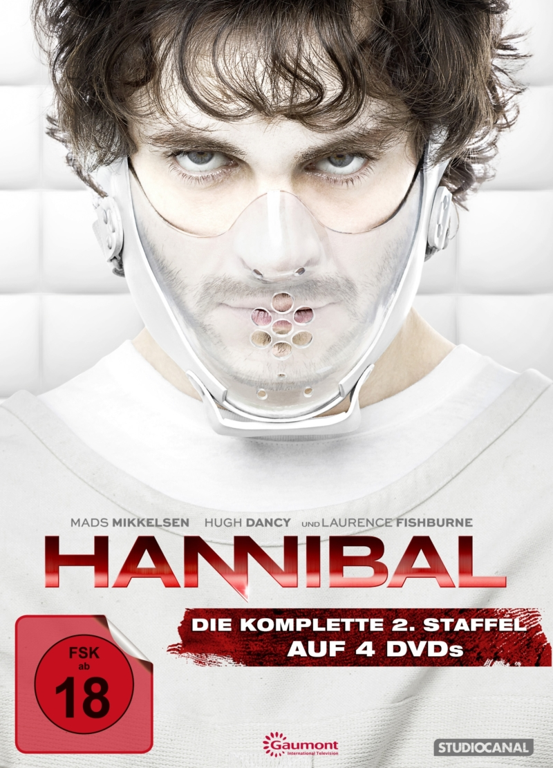 Hannibal – Staffel 2 (TV-Serie, 4DVD/3BD)