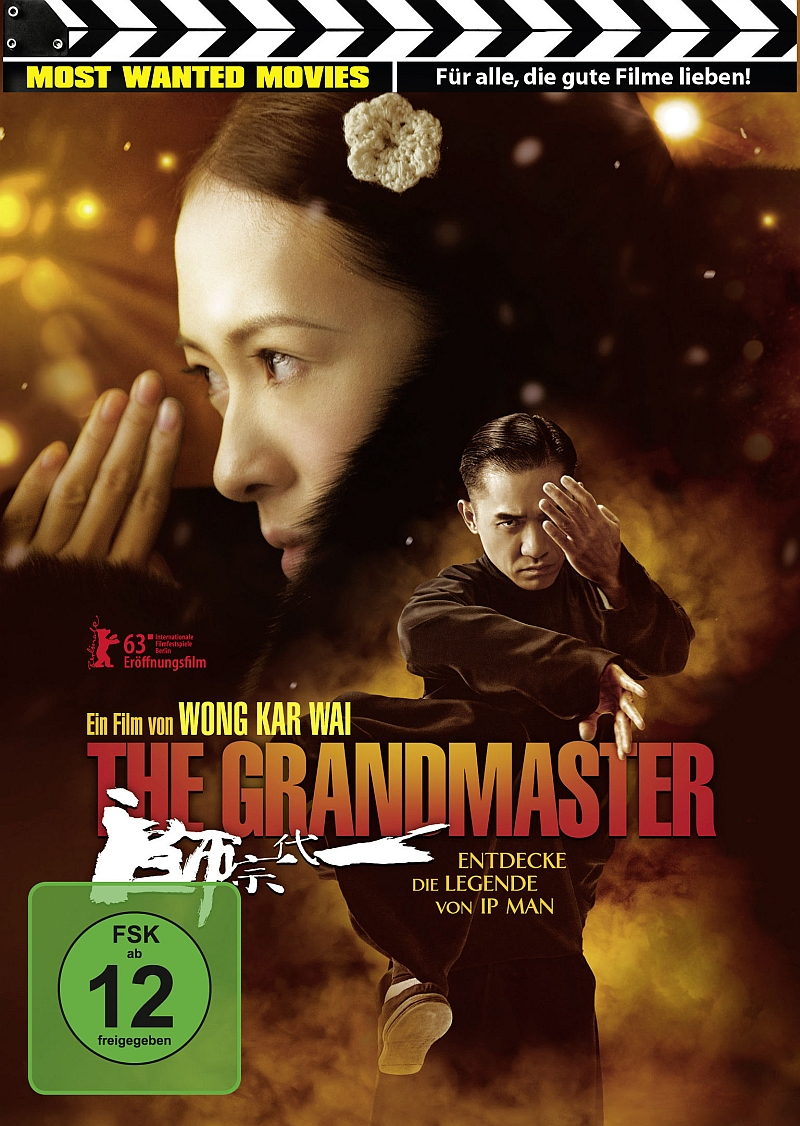 The Grandmaster (Spielfilm, DVD/Blu-Ray)