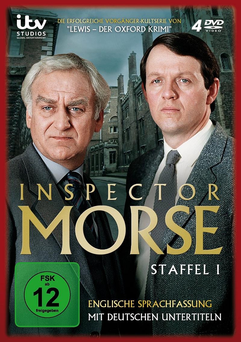 Inspector Morse – Staffel 1 (TV-Serie, 4DVD)