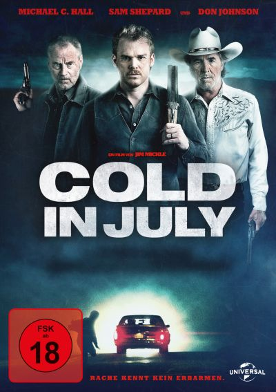 Cold In July (Spielfim, DVD/Blu-ray)