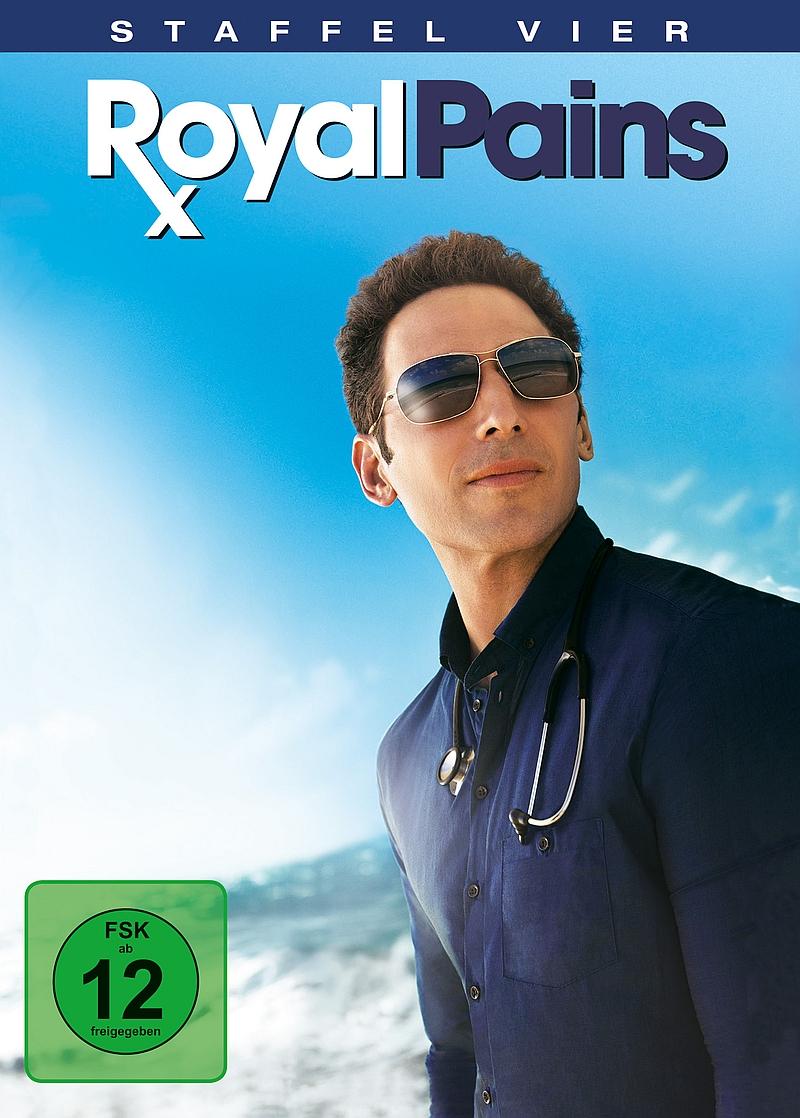 Royal Pains – Staffel 4 (TV-Serie, 4DVD)