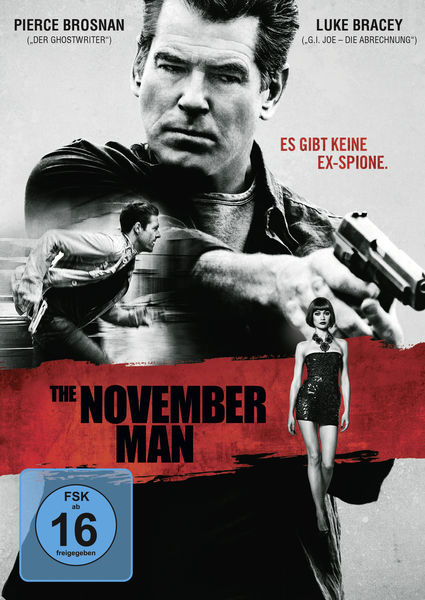 The November Man (Spielfilm, DVD/Blu-ray)