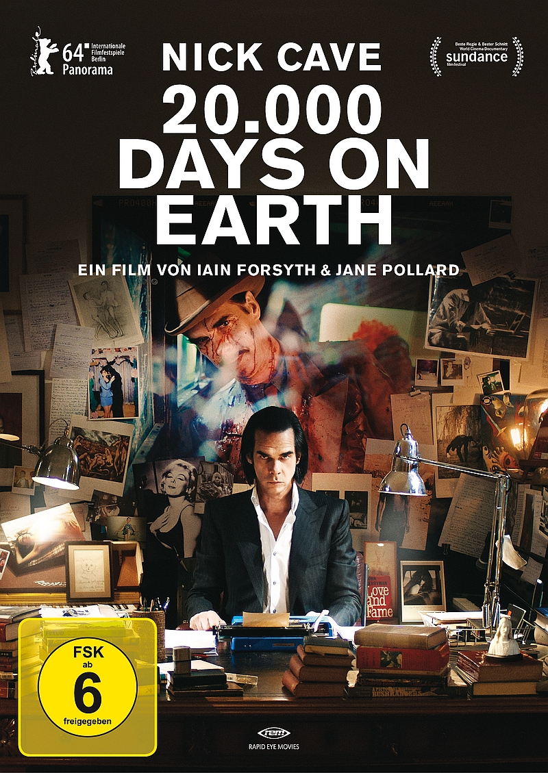 20.000 Days On Earth (Musikfilm, DVD/Blu-ray)