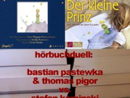 Der kleine Prinz - Hörbuchduell (Cover © GoyaLiT [li] , ROOFmusic [re]