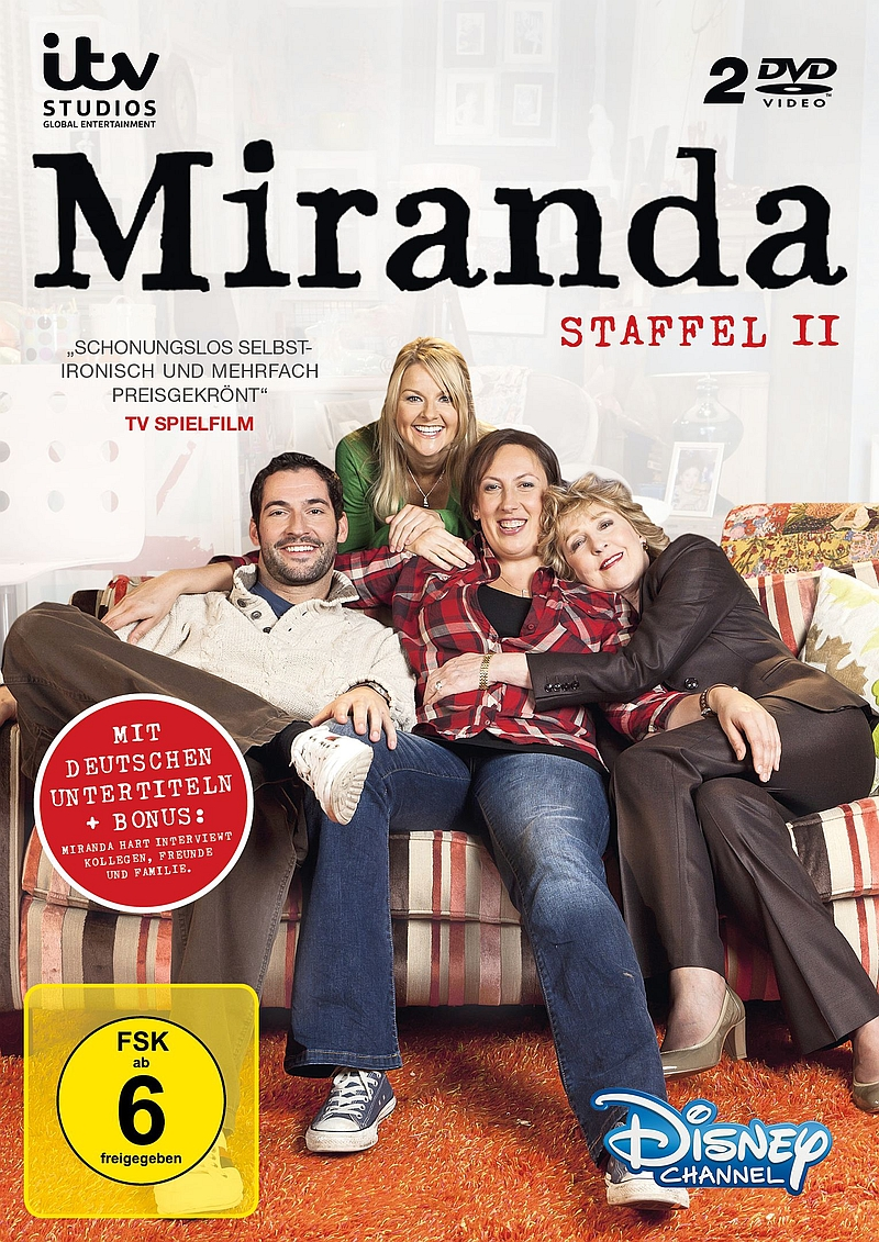 Miranda – Staffel 2 (TV-Serie/2DVD)