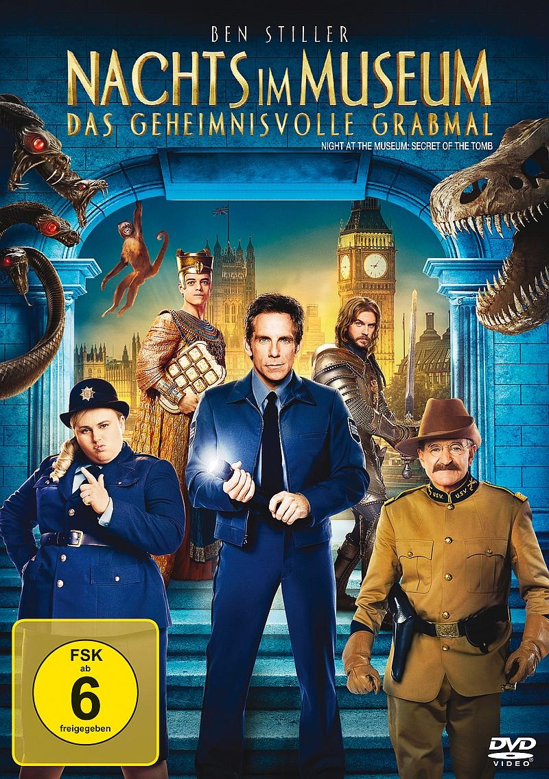 Nachts im Museum – Das geheimnisvolle Grabmal (Spielfim, DVD/Blu-ray)