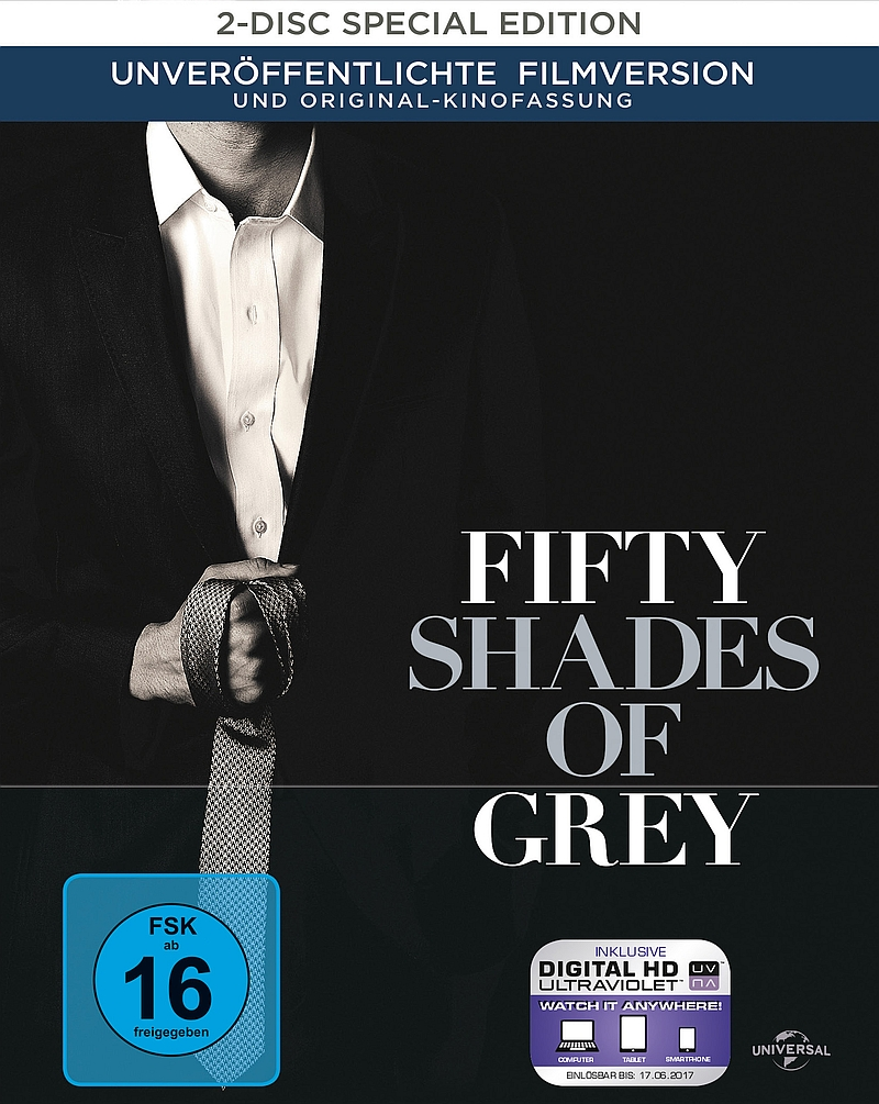Fifty Shades of Grey – Geheimes Verlangen (Film, DVD/Blu-Ray)