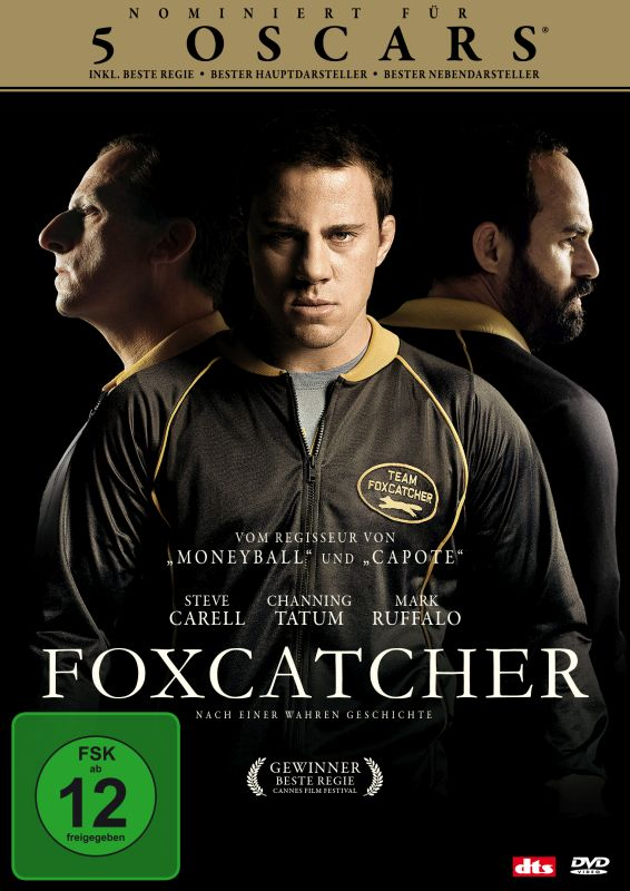 Foxcatcher (Spielfim, DVD/BluRay)