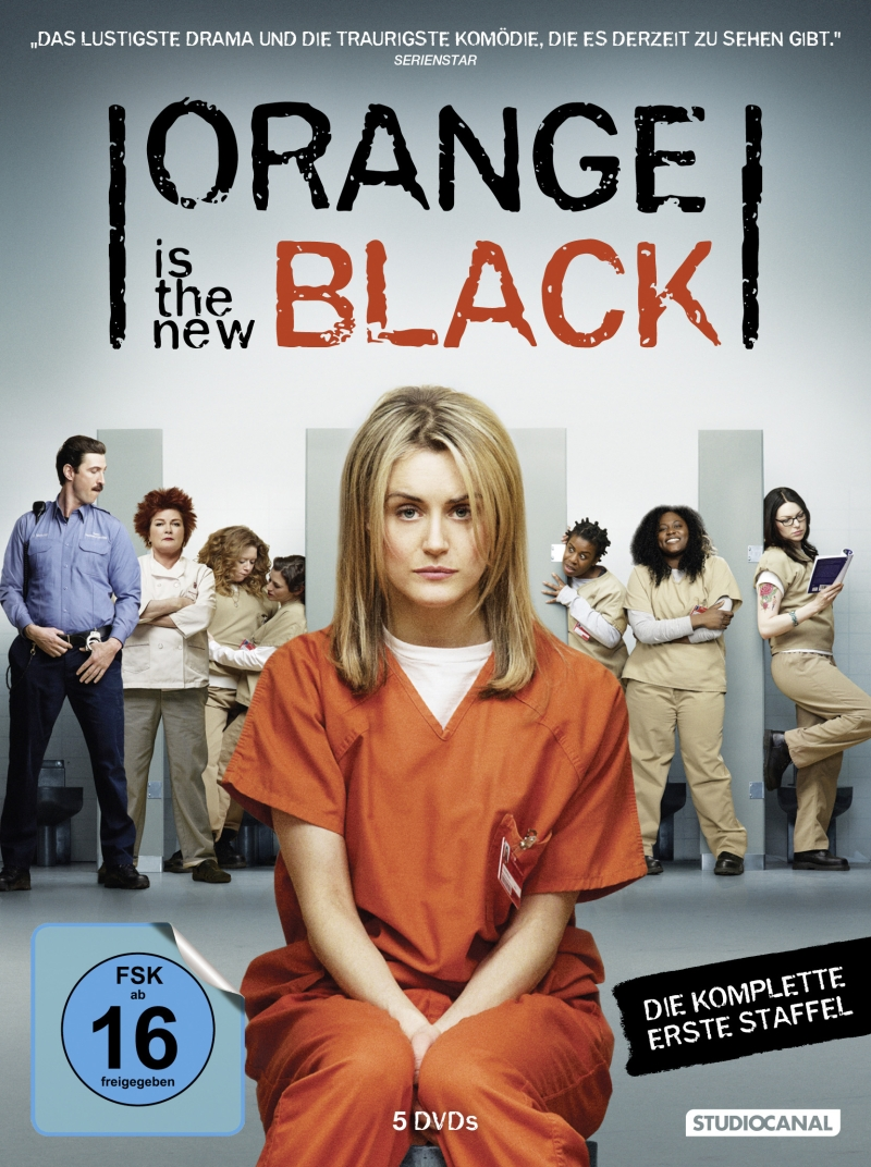 Orange Is The New Black – Staffel 1 (Serie, 5DVD/4 BD)