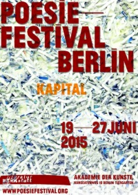 Poesiefestival Kulturwerkstatt Berlin 2015