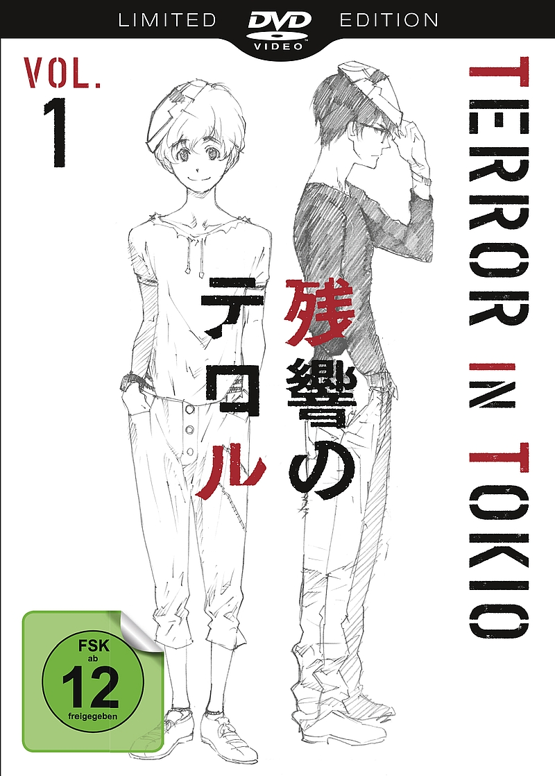 Terror in Tokio – Vol. 1 & 2 (DVD, Serie)