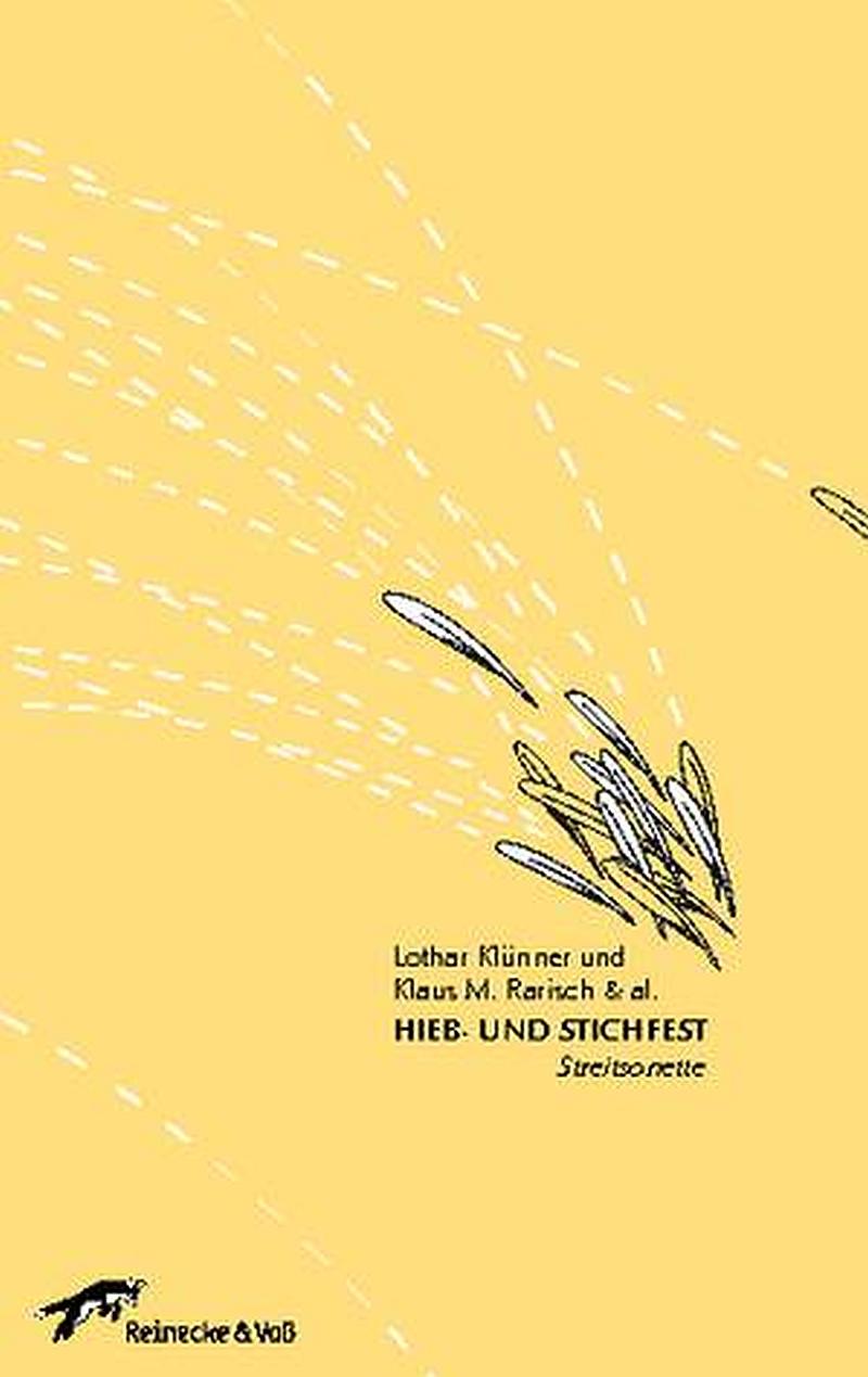 Lothar Klünner, Klaus M. Rarisch et al. – Hieb- und Stichfest – Streitsonette (Buch)