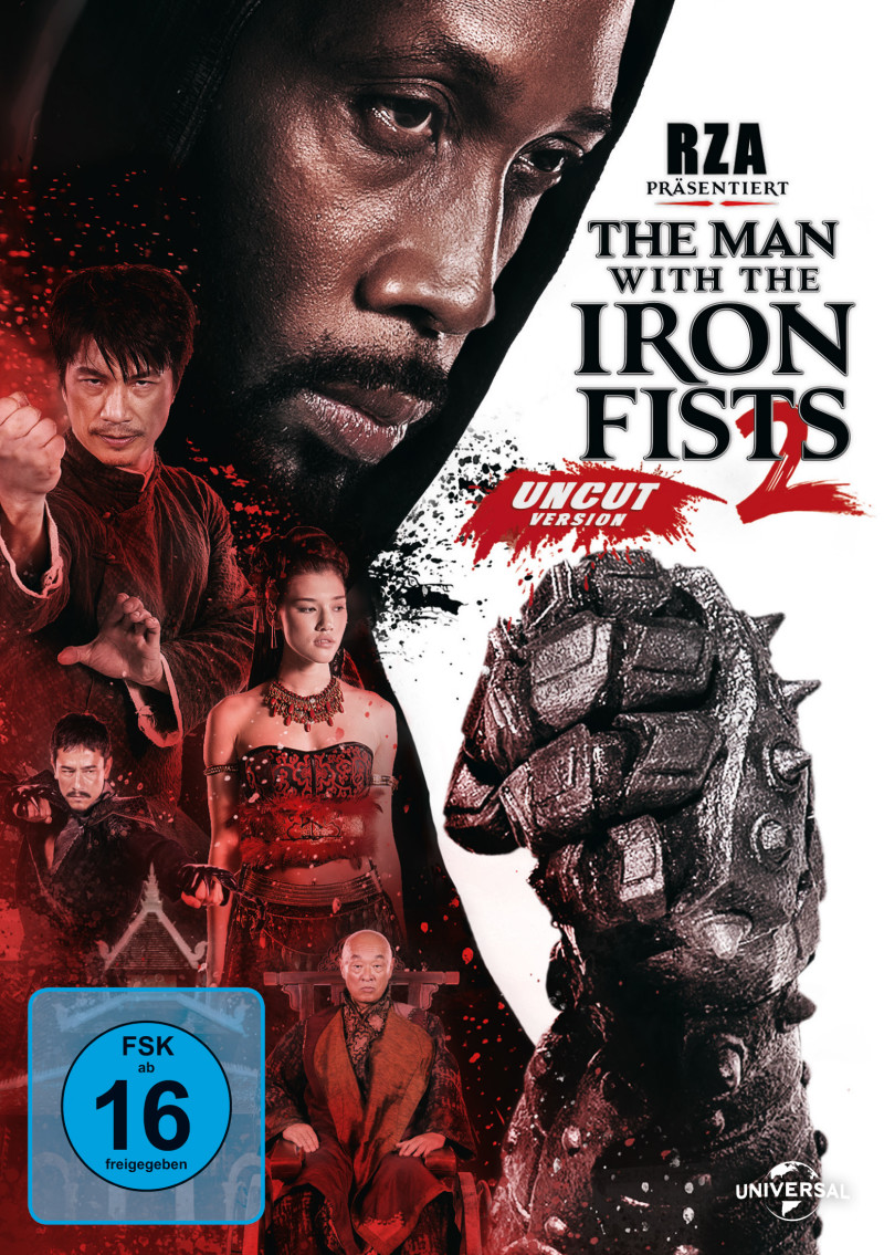 The Man with the Iron Fists 2 (Spielfilm, DVD/Blu-ray)