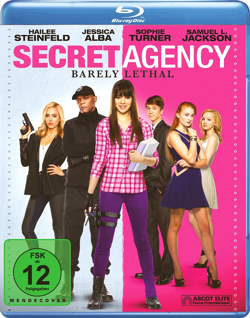 Secret Agency – Barely Lethal (Spielfilm, DVD/Blu-Ray)