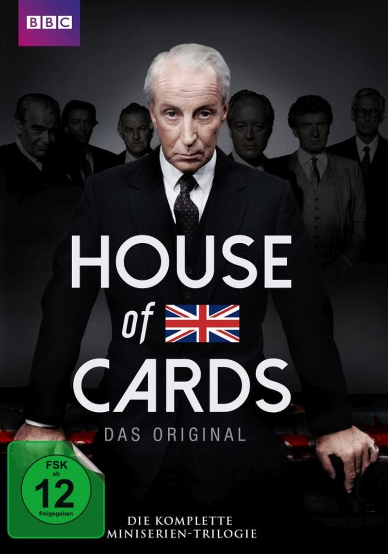 House Of Cards – Die Miniserien-Trilogie (TV Serie, DVD/Blu-ray)