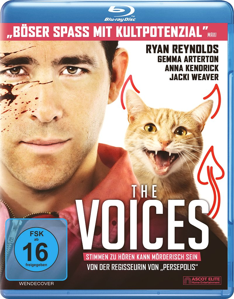 The Voices (Spielfilm, DVD/Blu-Ray)