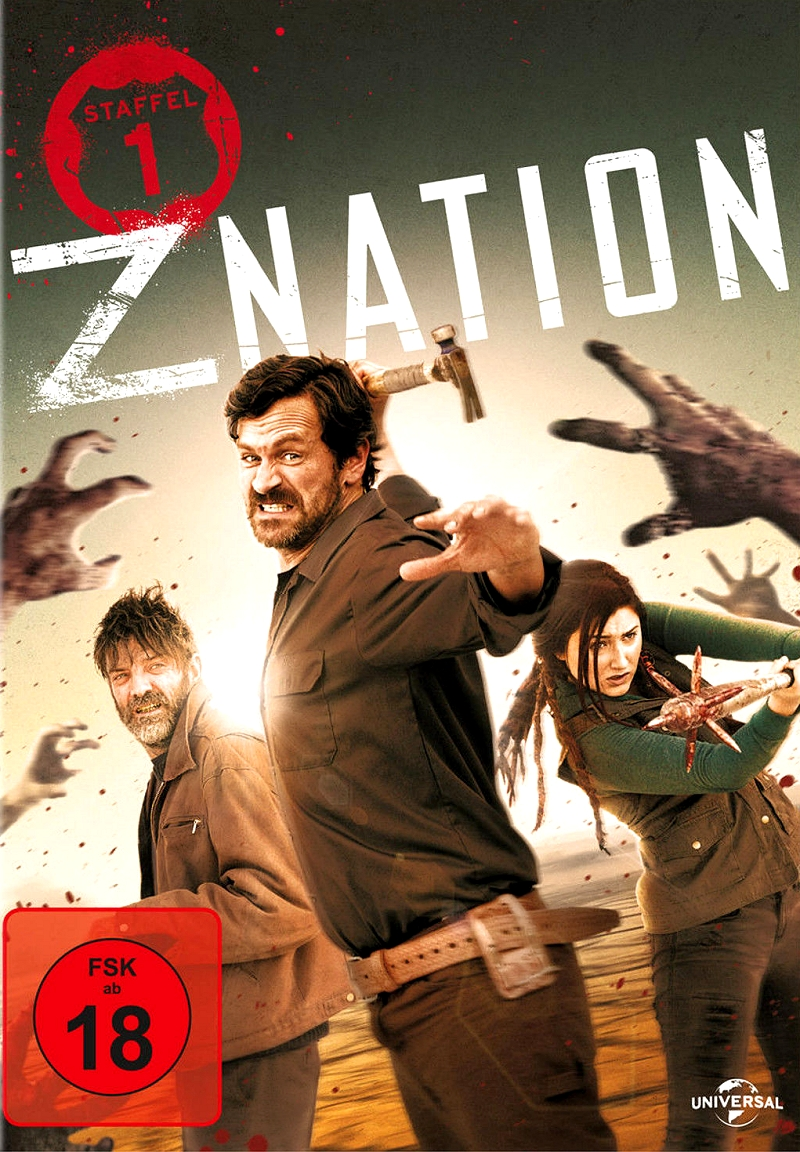 Z Nation – Staffel 1 (TV-Serie, 4DVD)