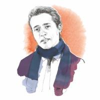 André Stern - Grafik © Ecowin Verlag/Benevento Publishing