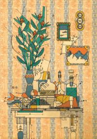 Das hündische Herz - Illustration S44 (c) Christian Gralingen/Edition Büchergilde