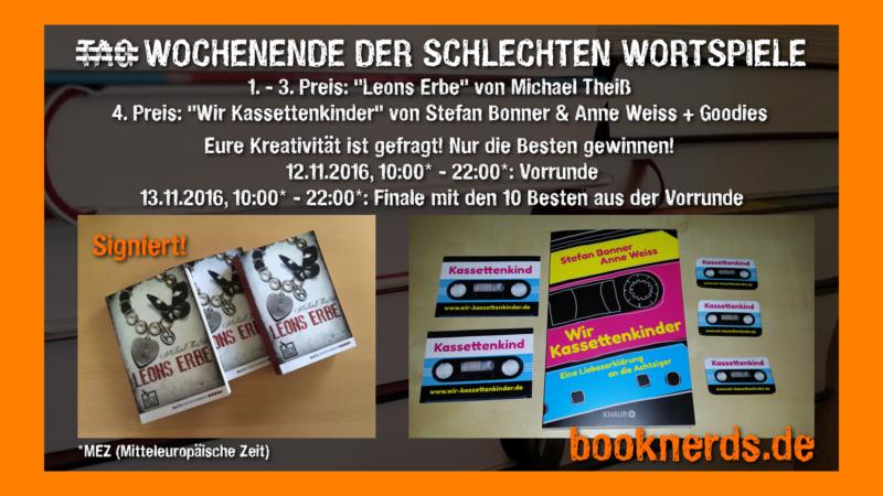 Schlechte Wortspiele Veranstaltung © booknerds.de