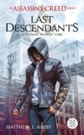 Matthew J. Kirby - Assassin's Creed: Last Descendants Cover © S. Fischer Verlage