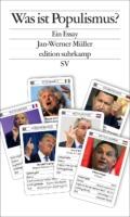 Jan-Werner Müller - Was ist Populismus (Cover © Suhrkamp)