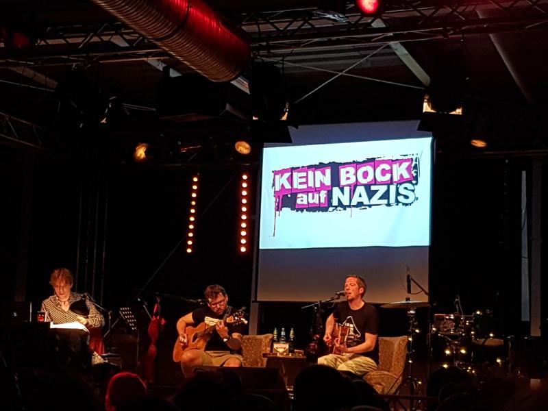 Lesung - Das Buch Ä - Kein Bock auf Nazis