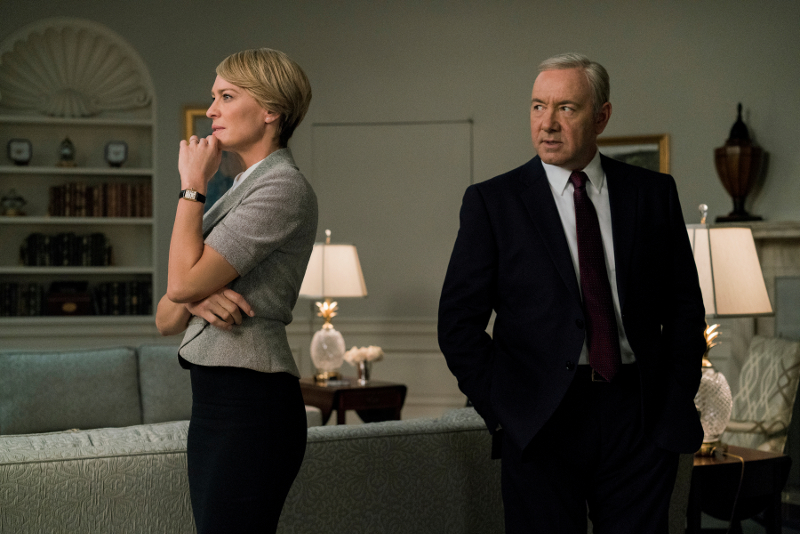 House of Cards Staffel 5 - Frank und Claire (Szenenbild © Sky Entertainment)
