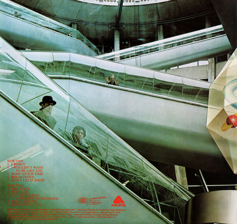 The Alan Parsons Project - I Robot (1977) - Cover Art by Hipgnosis