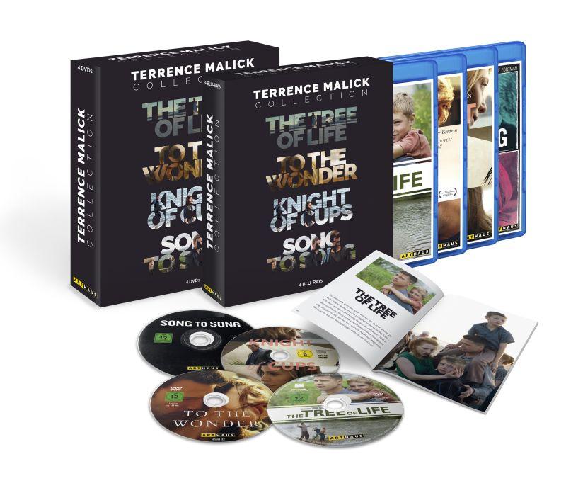 rezension terrence malick collection spielfilme 4 dvds. Black Bedroom Furniture Sets. Home Design Ideas
