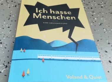 Julius Fischer - Ich hasse Menschen - Cover © Voland & Quist