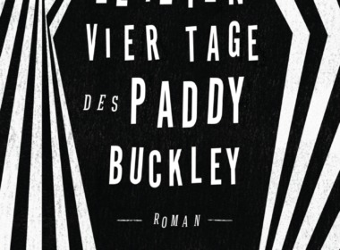 Jeremy Massey - Die letzten vier Tage des Paddy Buckley - Cover © Carlsbooks