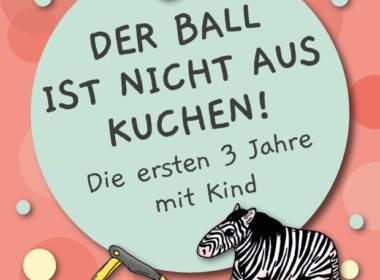 Der Ball ist nicht aus Kuchen - Cover (© Holzbaumverlag)