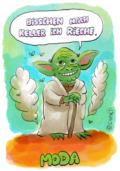 Gezeichneter Yoda