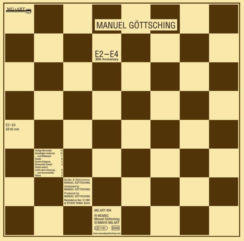 Manuel Göttsching - 1984 - E2-E4