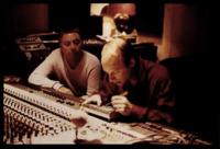 "Harold Budd und Brian Eno bei der Arbeit an ""AMBIENT2 - The Plateaux Of Mirror"" (1979)"