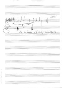 """Manuel Göttschings Notation des zentralen Motivs von """"E2-E4"""""""