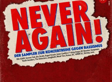 Never Again ! Der Sampler zur Konzertreihe gegen Rassismus #1 (© SJ DIe Falken Mönchengladbach)